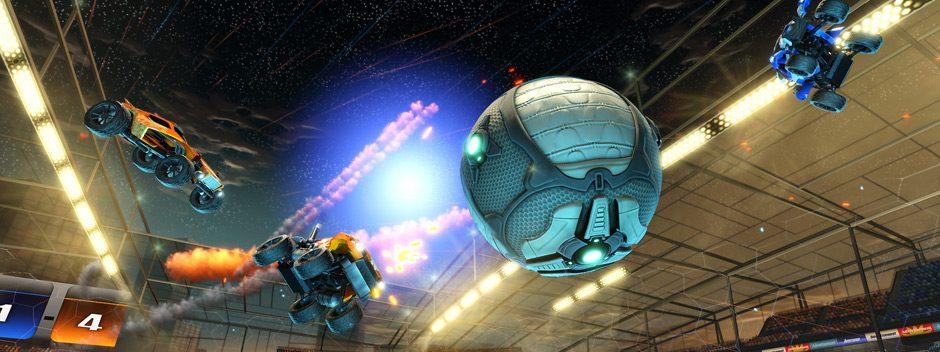 Annunciato Rocket League per PlayStation 4