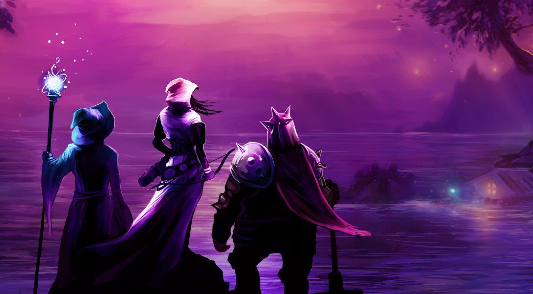 Trine Enchanted Edition arriva questa settimana su PS4