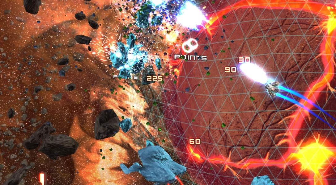 Annunciato Super Stardust Ultra per PlayStation 4