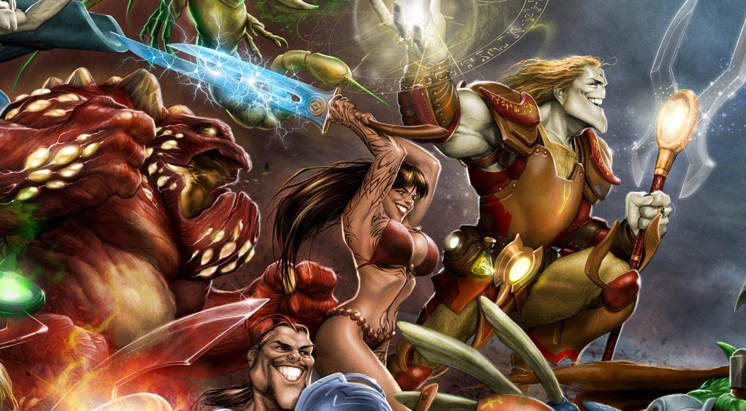 Il MOBA free-to-play Invokers Tournament è disponibile da oggi su PS4 e PS Vita