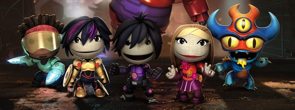 Big Hero 6 di Disney approda su LittleBigPlanet 3 questa settimana