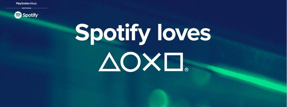 Spotify arriva oggi su PlayStation Music