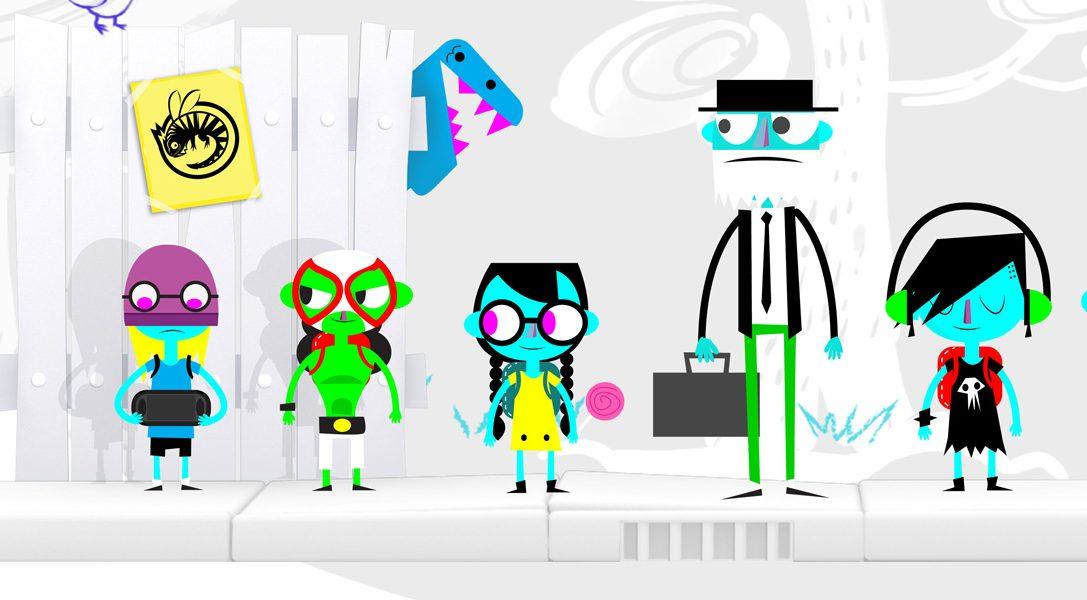L'eccentrico rompicapo-platform MonsterBag in arrivo su PS Vita il prossimo mese