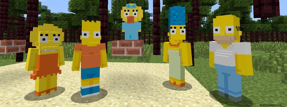 The Simpsons arrivano in Minecraft questa settimana