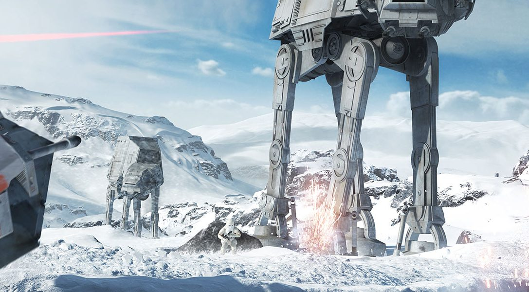 Ecco il trailer di debutto di Star Wars Battlefront!