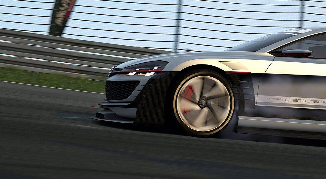 L'aggiornamento di Gran Turismo 6 aggiunge una nuova auto Vision GT realizzata da Volkswagen