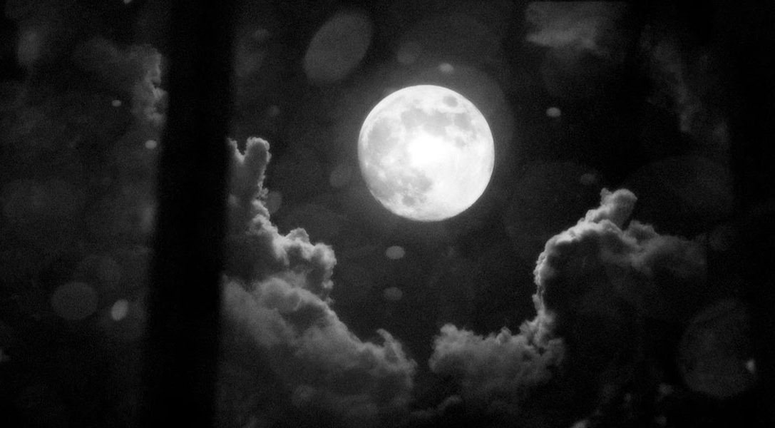 White Night e la Luna