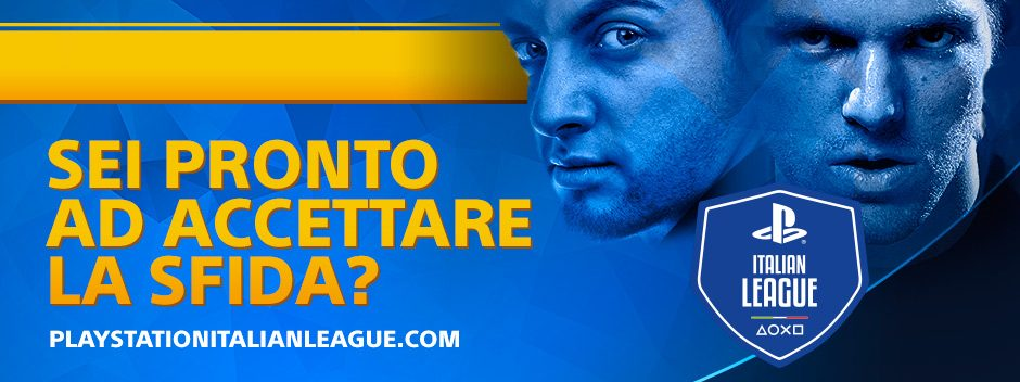 Nasce PlayStation Italian League