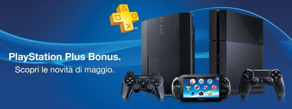 PlayStation Plus Bonus – Scopri le novità di maggio