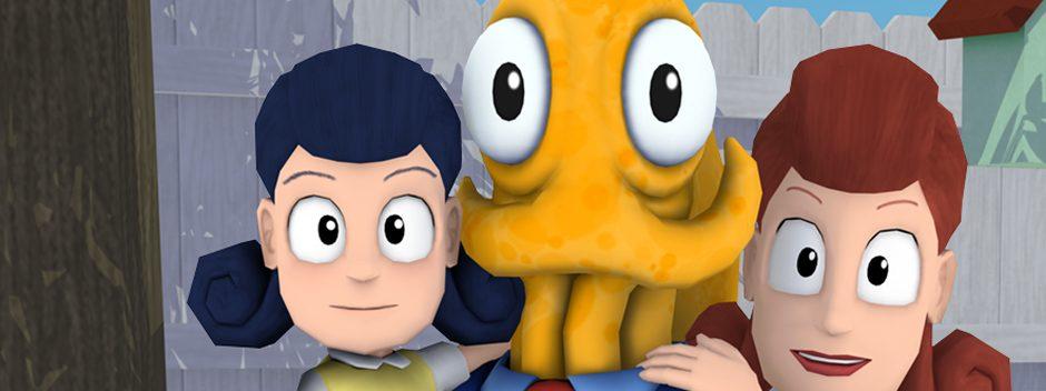 Avvolgi i tentacoli attorno a Octodad su PS Vita la prossima settimana