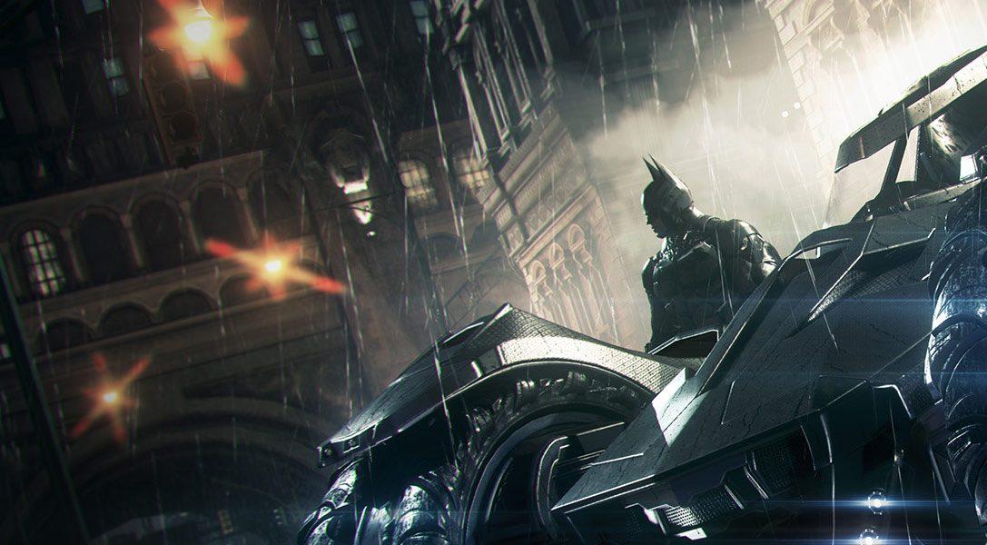 Arriva il trailer live action di Batman: Arkham Knight