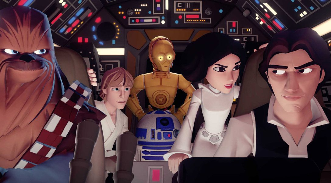 Disney Infinity 3.0: Play Without Limits annunciato per PS4 e PS3 con tanto di Star Wars!