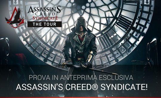 Partecipa ad Assassin's Creed Syndicate The Tour (AGGIORNATO)