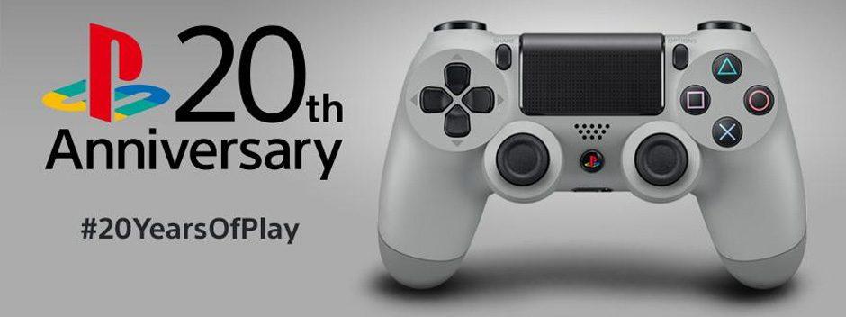 Dualshock 4 20th Anniversary Edition in arrivo a settembre