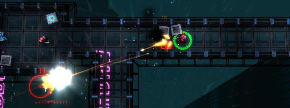Neonchrome, lo sparatutto cyberpunk con visuale dall'alto è stato annunciato per PS4
