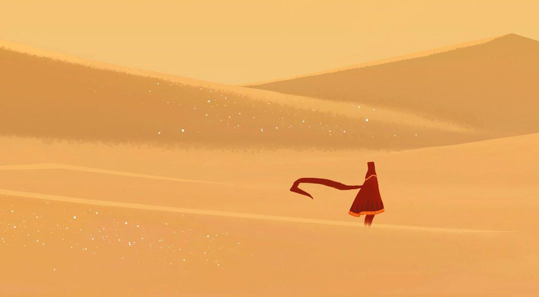 Journey arriva oggi su PS4, con il 20% di sconto PS Plus