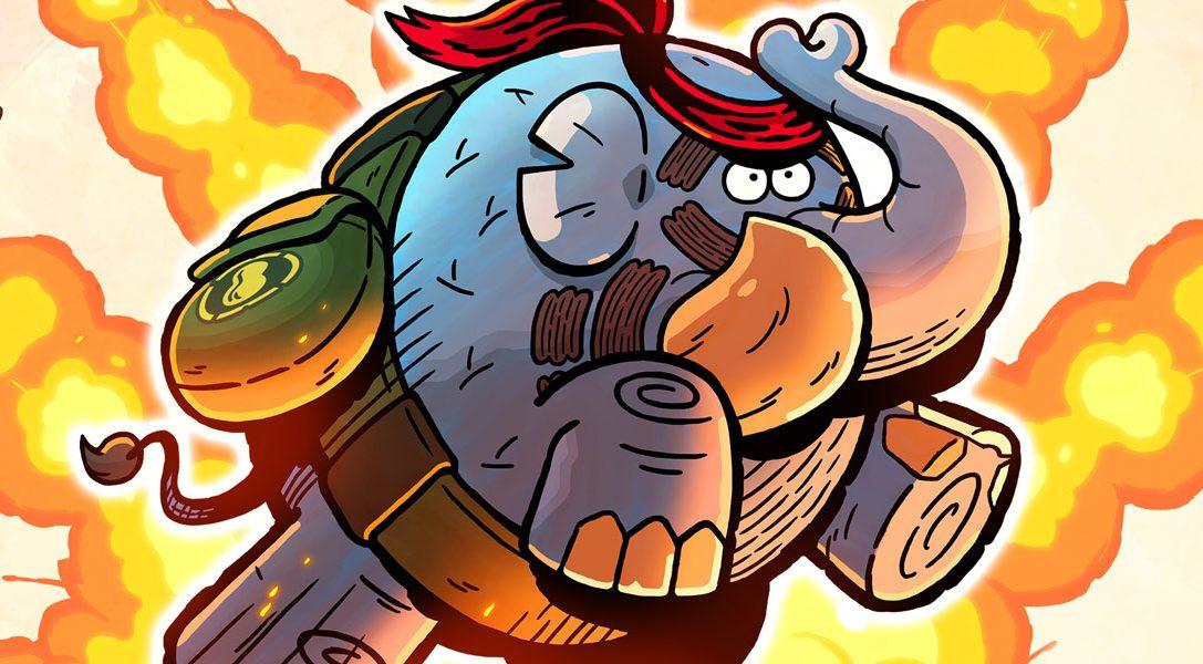 Tembo The Badass Elephant in arrivo domani su PS4. Guarda il trailer di lancio