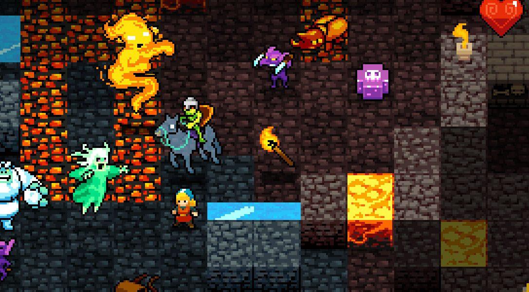 Crypt of the NecroDancer in arrivo su PS4 e PS Vita