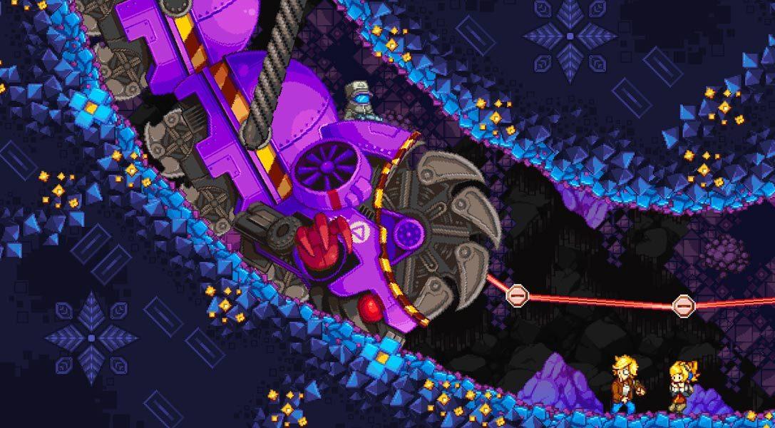 Iconoclasts, l'ambizioso platform d'azione, è in arrivo su PS4 e PS Vita