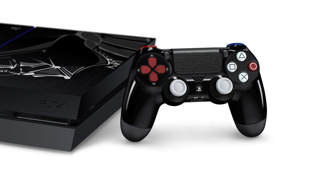 PS4 in edizione limitata ispirata a Darth Fener disponibile a novembre