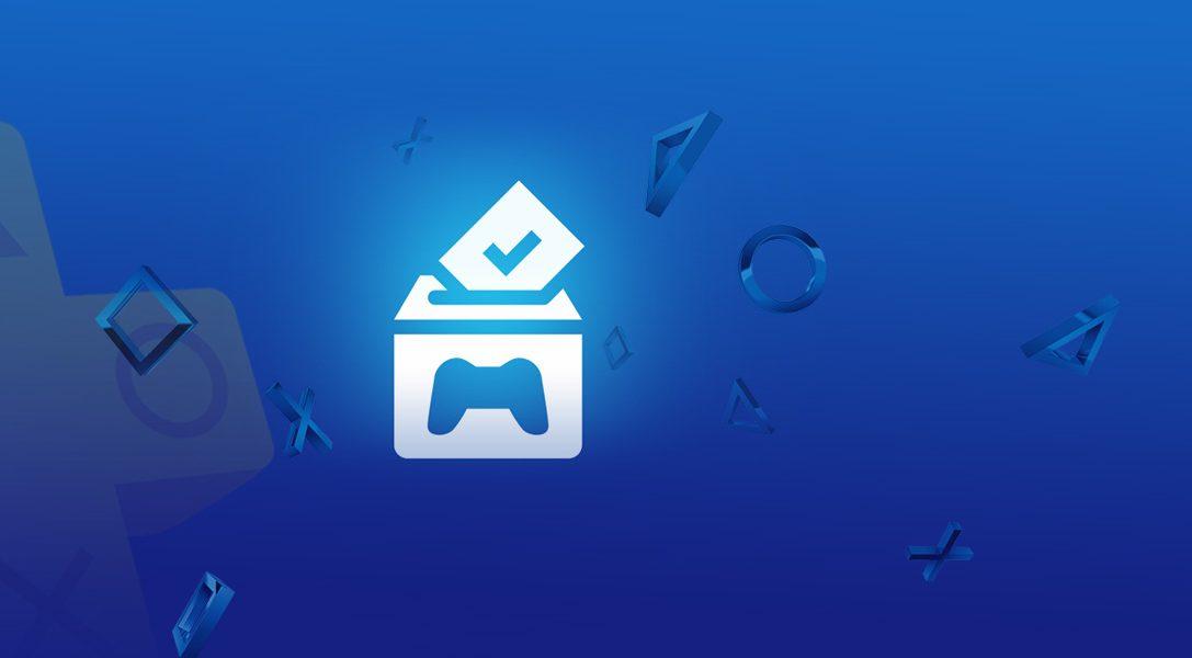 PlayStation Plus: Vota e Gioca inizia questa settimana!