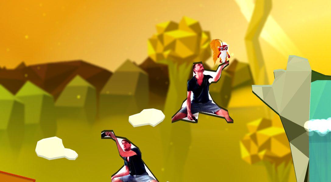 Commander Cherry's Puzzled Journey, il folle platform basato su PlayStation Camera, esce oggi