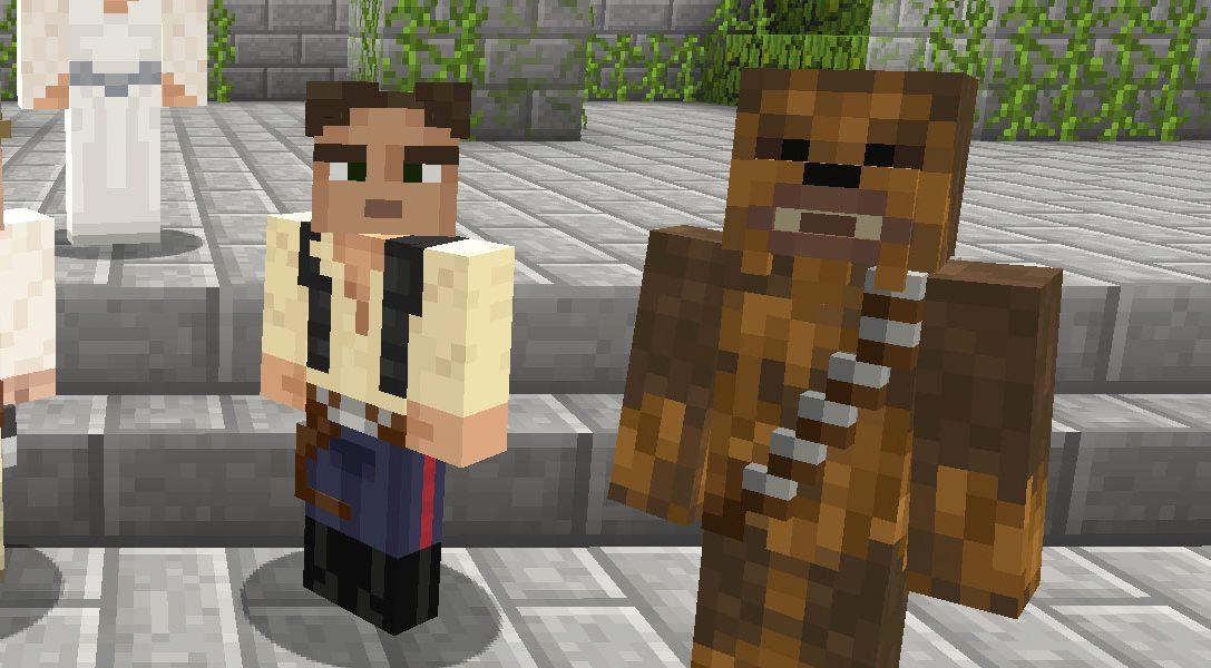 A partire da oggi, il pacchetto di skin Star Wars per Minecraft è finalmente disponibile