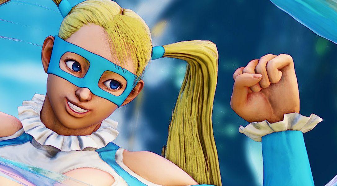 Street Fighter V dà il benvenuto a Rainbow Mika