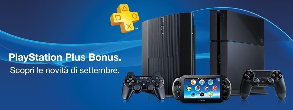 PlayStation Plus Bonus – scopri le novità di settembre