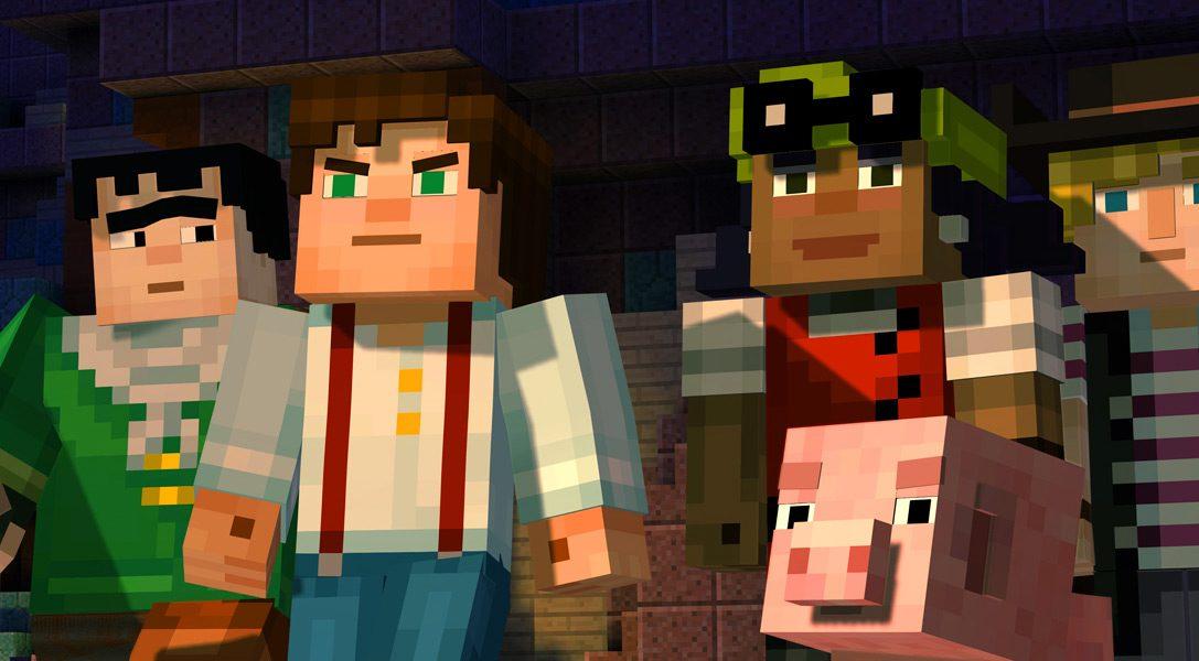 Minecraft: Story Mode su PS4 e PS3 il mese prossimo