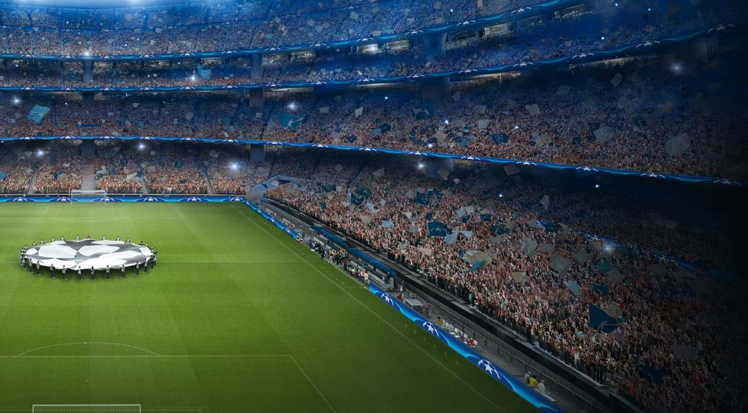 L'app PlayStation F.C. UEFA Champions League sarà disponibile da oggi per PS4