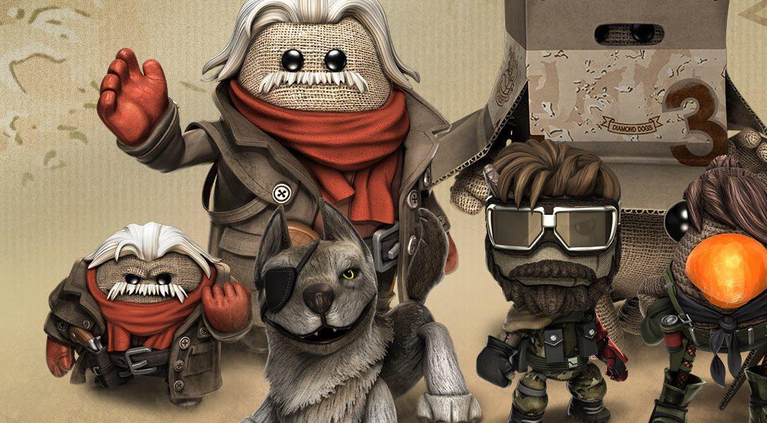 Disponibile da questa settimana il contenuto scaricabile di Metal Gear Solid V: The Phantom Pain per LittleBigPlanet 3