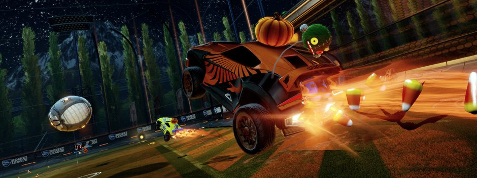 DLC gratuito di Halloween in arrivo questo mese per Rocket League