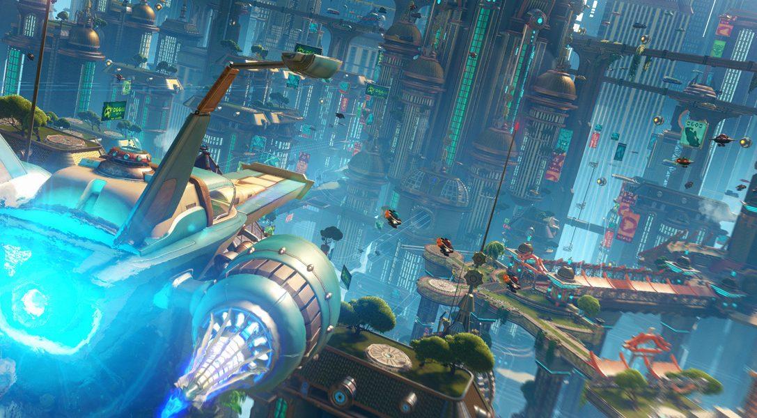 Presentato alla Paris Games Week il nuovo trailer di Ratchet & Clank per PS4
