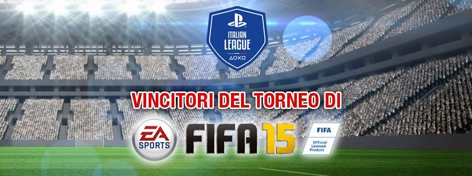 Vi annunciamo il vincitore dei PlayOff del Campionato PSIL FIFA 15