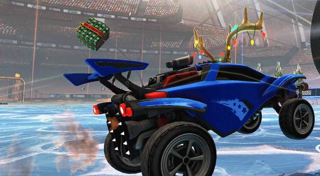 Il mese prossimo, l'inverno arriva su Rocket League con Winter Games