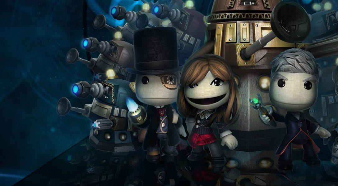 Il Doctor Who arriva questa settimana su LittleBigPlanet