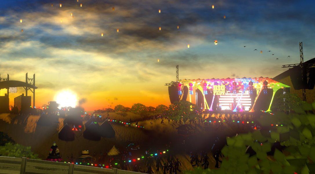 Il simulatore di festival musicale BigFest è disponibile da oggi, solo su PS Vita