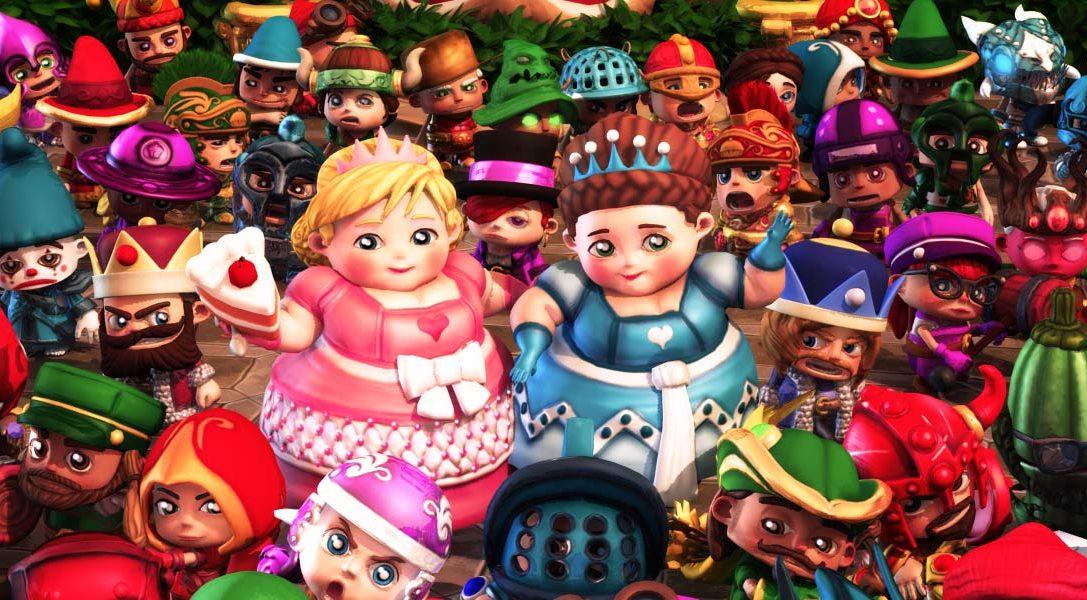 Questa settimana, Fat Princess Adventures si arricchisce con il DLC gratuito Arena di combattimento.