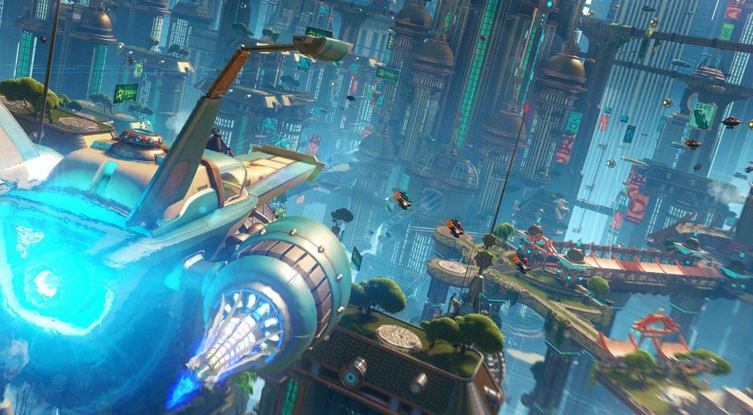 Rivelate la data d'uscita e la copertina di Ratchet & Clank per PS4