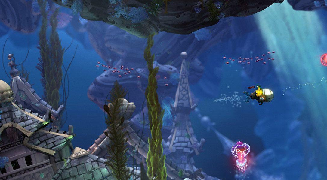 Annunciata l'avventura sottomarina Song of the Deep di Insomniac Games per PS4