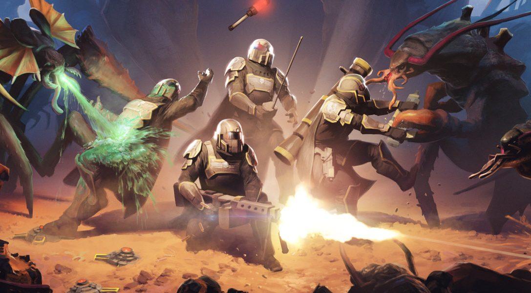 PlayStation Plus a febbraio: Helldivers, Nom Nom Galaxy e non solo