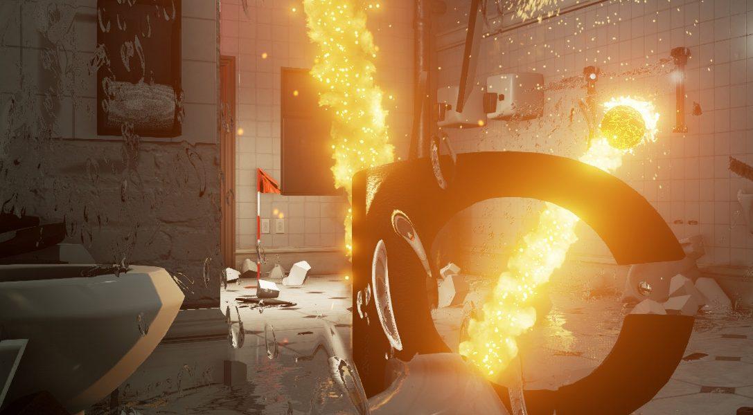 Gli ex sviluppatori di Burnout annunciano Dangerous Golf per PS4