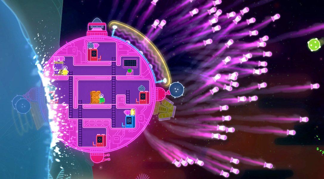 Il gioco in cooperativa locale Lovers in a Dangerous Spacetime arriva a febbraio su PS4