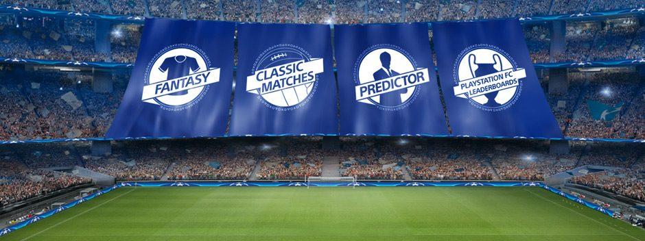 Nuove funzionalità aggiunte all'app PlayStation F.C. UEFA Champions League