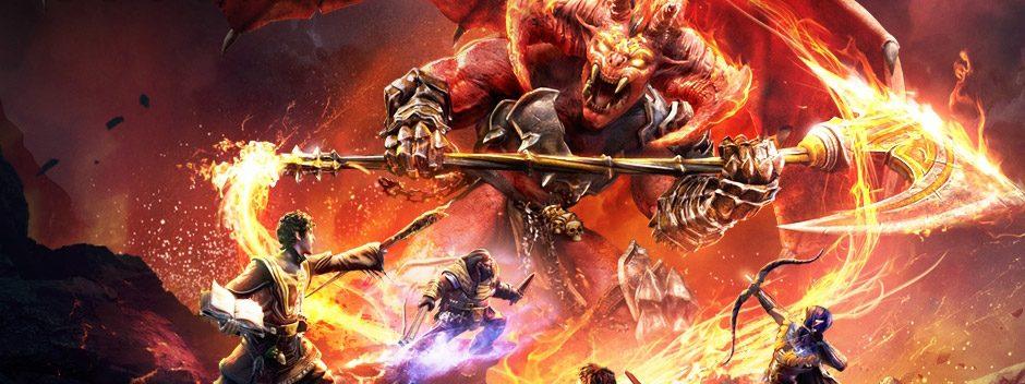 Questa primavera, Sword Coast Legends porta su PS4 le avventure di D&D