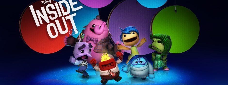 Disponibile da questa settimana il pack costumi Inside Out per LittleBigPlanet 3