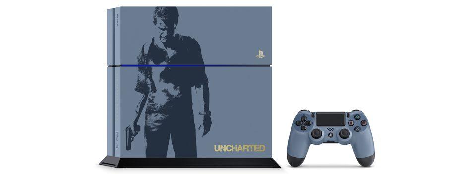 Prenota il bundle PS4 Limited Edition dedicato ad Uncharted 4!