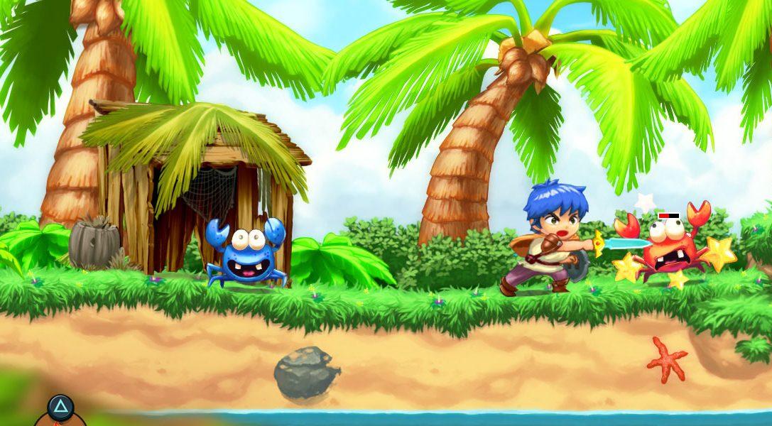 Quest'anno, arriverà su PS4 un nuovo gioco con Monster Boy