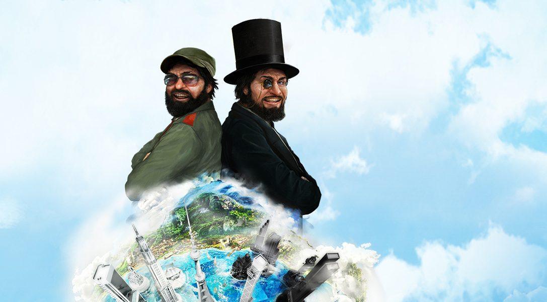 In arrivo su PlayStation Plus a maggio: Tropico 5, Table Top Racing e non solo